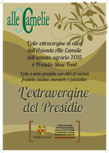 slow food alle camelie olio